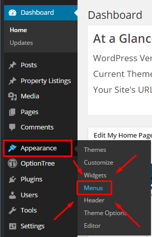 how to create a custom menu in wordpress 1
